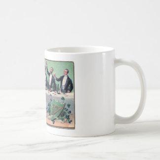 Original Saint patrick's day drink vintage poster Coffee Mug