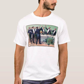 Original Saint patrick's day drink vintage poster T-Shirt