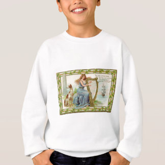 Original Saint patrick's day harp & lady Sweatshirt