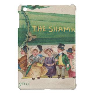 Original Saint Patrick's day vintage shamrock iPad Mini Case