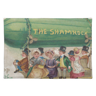 Original Saint Patrick's day vintage shamrock Placemat