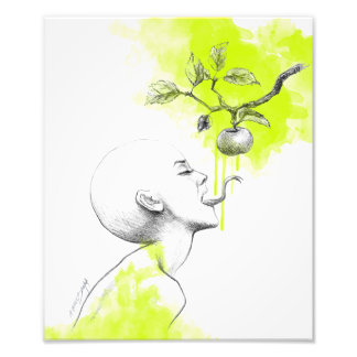 Original sin surreal art Photo print
