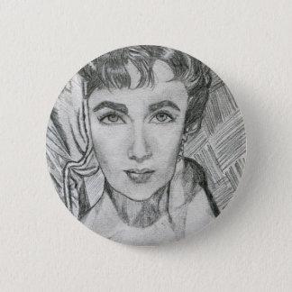 Original sketch 6 cm round badge