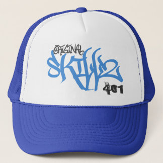 Original Skillz Logo (New Blue Trucker Hat