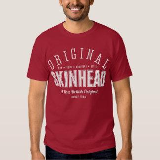 Original Skinhead – White Text T Shirt