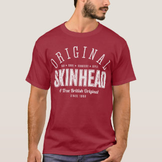 Original Skinhead – White Text T-Shirt