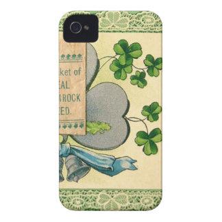 Original St Patrick's day vintage irish draw iPhone 4 Covers
