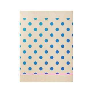 Original stylish Miami dots poster Wood Poster