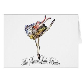 Original Swan Lake Ballet by Latidaballet! Card