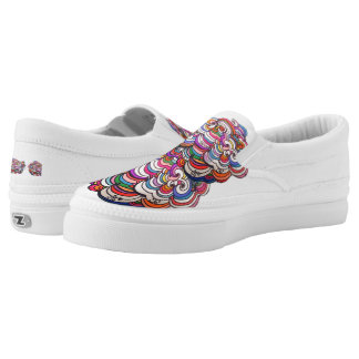 Original Swirly design Slip On Shoes