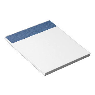 Original textile fabric blue fashion jean denim notepad