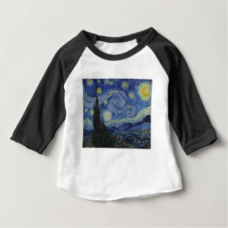Original the starry night paint baby T-Shirt