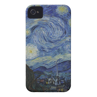 Original the starry night paint iPhone 4 Case-Mate case