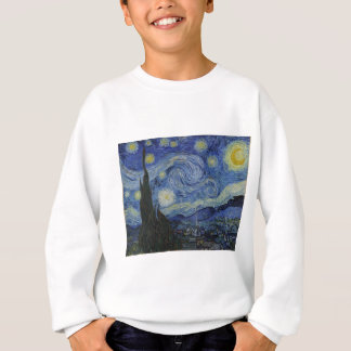 Original the starry night paint sweatshirt