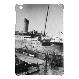 original titanic picture under construction case for the iPad mini