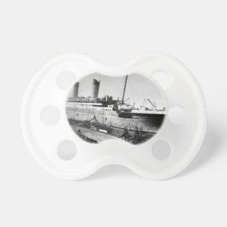 original titanic picture under construction dummy