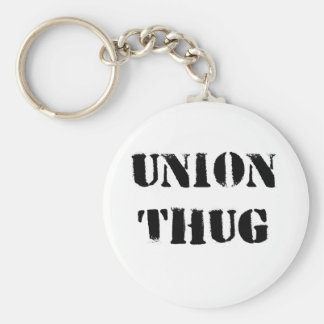 Original Union Thug Basic Round Button Key Ring