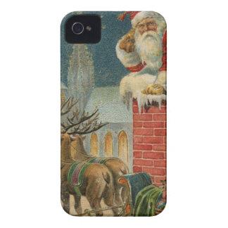 Original vintage 1906 Santa clous poster iPhone 4 Case