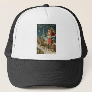 Original vintage 1906 Santa clous poster Trucker Hat