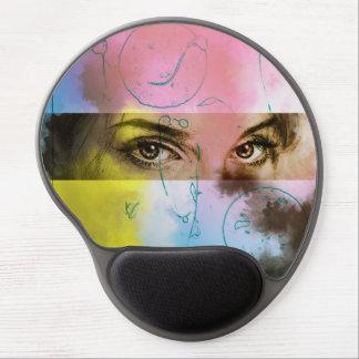Original vintage art gel mousepad - Stare