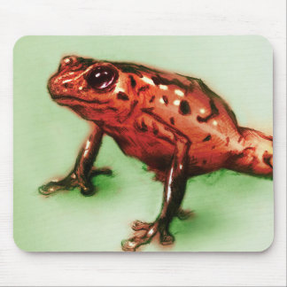 Original vintage art mousepad - Frog
