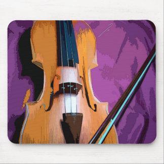 Original vintage art mousepad - Viola