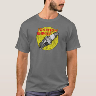 Original Vintage Hot Rod Spark Plug Tee