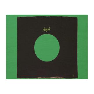 Original Wall Art APPLE 45rpm vinyl record sleeve Wood Canvases