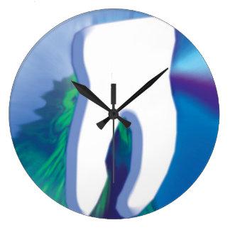 Original White Tooth Design Dentist Wall Clock