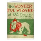 Original wizard of Oz Cover Card