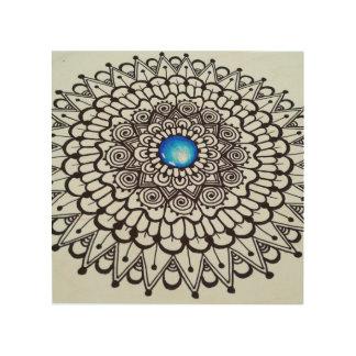 Original Wooden Mandala Hanging art