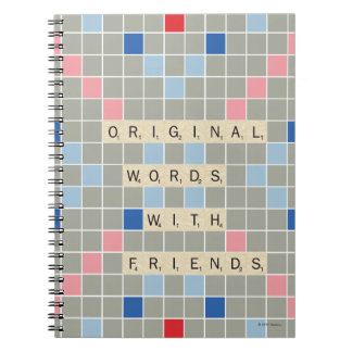 Original Words With Friends Notebook