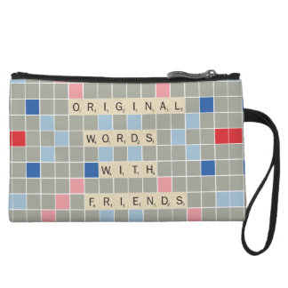 Original Words With Friends Wristlet Clutches