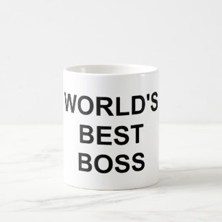 Original World's Best Boss Mug