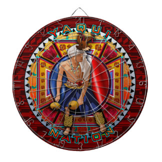 Original Yaqui Nation Deer Dancer Dartboard