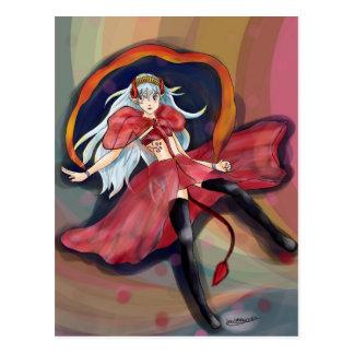 Origional artwork- Melody Postcard