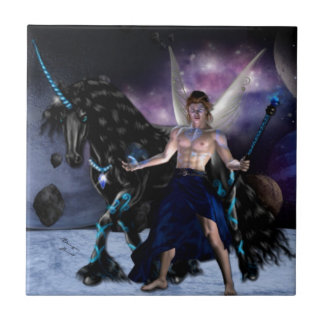 Orion Fairy wizard Ceramic Tile