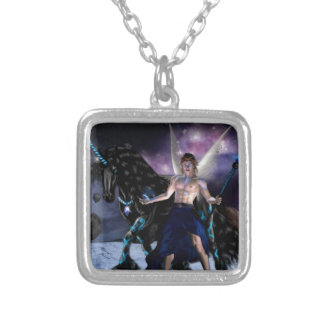 Orion Fairy wizard Silver Plated Necklace