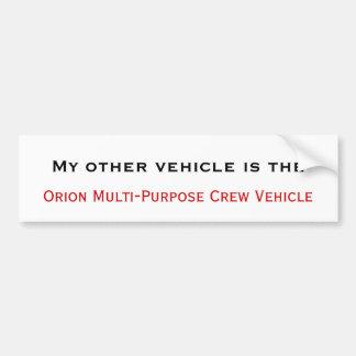 Orion MPCV Bumper Sticker