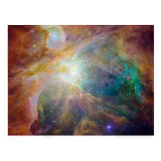 Orion Nebula Astronomy Photo Postcard
