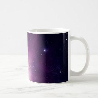 Orion nebula basic white mug