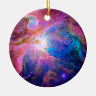Orion Nebula Ceramic Ornament