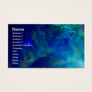 Orion Nebula cosmic galaxy space universe Business Card