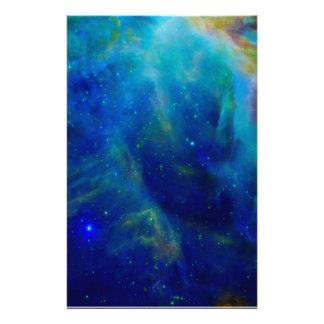 Orion Nebula cosmic galaxy space universe Stationery