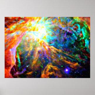 Orion Nebula - Emission Nebula Print