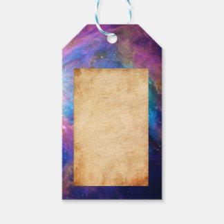 Orion Nebula Gift Tags