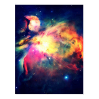 Orion Nebula Hauntingly Beautiful Postcard