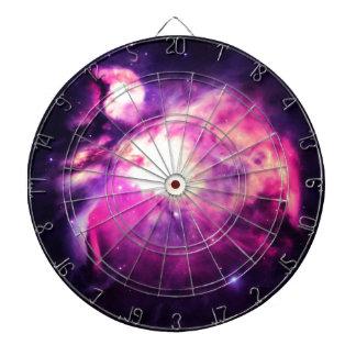 Orion Nebula Hauntingly Beautiful Purple Dartboard