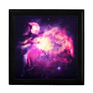 Orion Nebula Hauntingly Beautiful Purple Large Square Gift Box