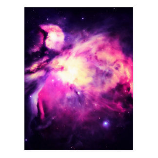 Orion Nebula Hauntingly Beautiful Purple Postcard
